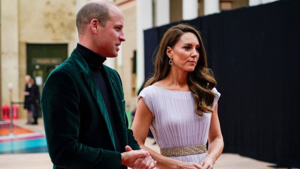 Celebrities join Prince William for Earthshot Prize award