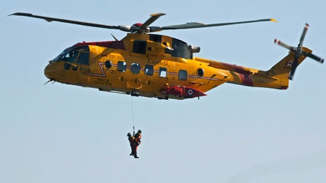 Crews searching for fisherman who went overboard near Yarmouth, N.S.
