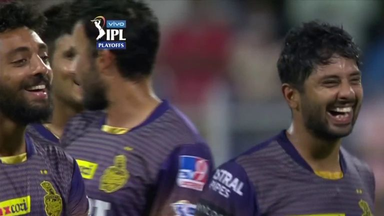 Kolkata Knight Riders are into the IPL final after a thrilling three-wicket win over Delhi Capitals in Sharjah