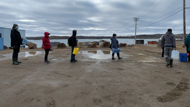 Iqaluit staff recommend full rebate for water customers due to emergency