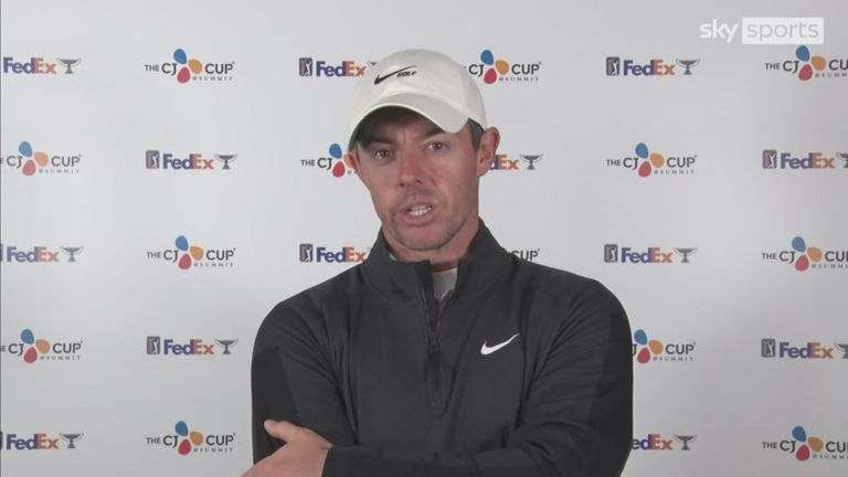 Rory McIlroy reflects on his emotional post-match interviews after his Ryder Cup singles match and what it made him realise about himself as a golfer