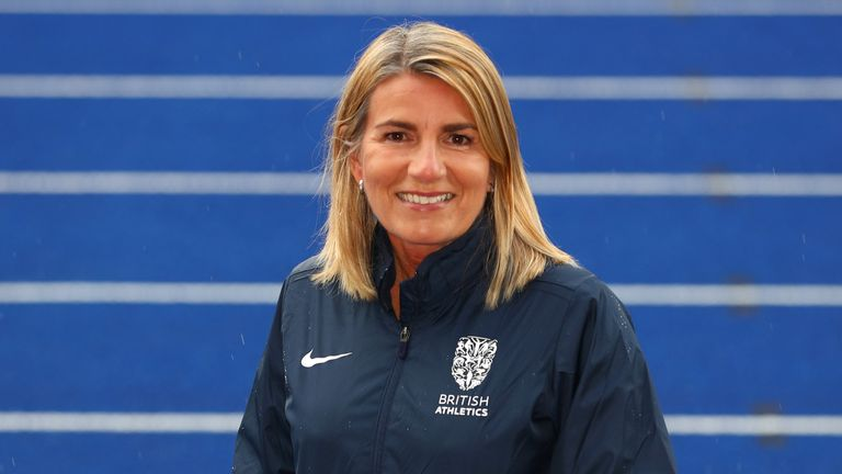 Joanna Coates was appointed chief executive of UK Athletics in March 2020