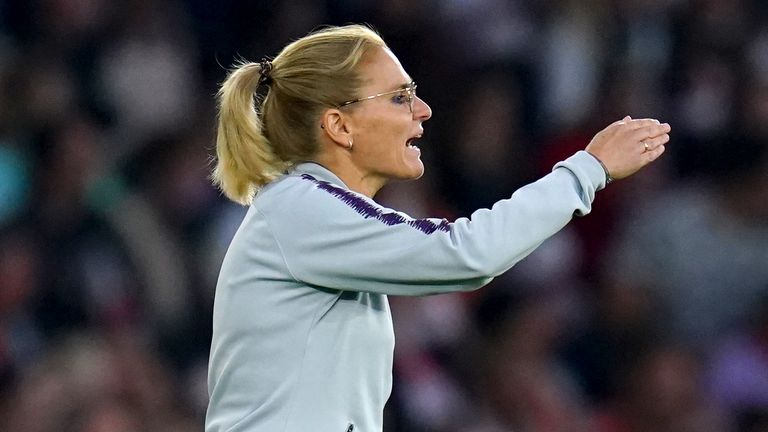 Sarina Wiegman is concerned about players' workload if a biennial World Cup format is introduced.